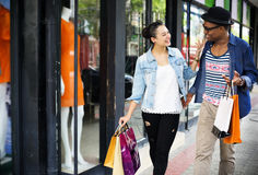 People Shopping Spending Customer Consumerism Concept. People Shopping Spending Customer Concept Royalty Free Stock Images