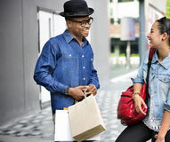 People Shopping Spending Customer Consumerism Concept. People Shopping Spending Customer Concept Stock Images
