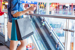 People Shopping Spending Customer Consumerism Concept At Departm Stock Image