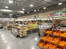 People shopping at Store WinCo TX USA Stock Photography