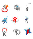 People signs and symbols Royalty Free Stock Photography