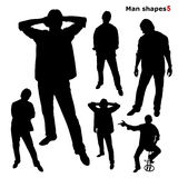 People in silhouette Stock Photos