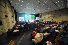 People sitting on International Conference of the Healthcare Industry Medicine 2012 Stock Photo