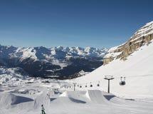 People skiing Royalty Free Stock Image