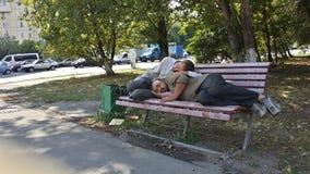 People sleep Stock Images