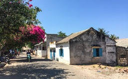 People at the small village in Phan Ri, Vietnam Stock Image