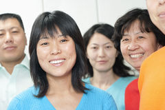 People Smiling Stock Images