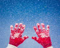 People Snow Winter Royalty Free Stock Images