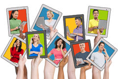 People Social Networking and Related Concepts Stock Images