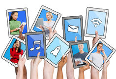 People Social Networking and Related Concepts Royalty Free Stock Image