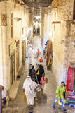 People at the Souq Waqif, Doha Royalty Free Stock Photos