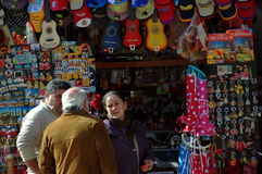 People by a souvenir booth 65 Stock Images