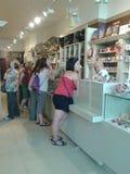 People souvenir shop Stock Photo