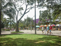 People at Sports Center of Medellin Colombia Royalty Free Stock Photography