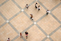 People square Royalty Free Stock Image