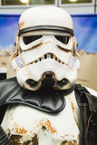 People of 501st Legion take part in the Star Wars parade in Mila Royalty Free Stock Image