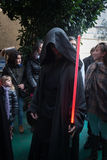 People of 501st Legion take part in the Star Wars Parade in Milan, Italy Royalty Free Stock Photography