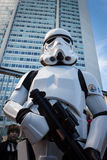 People of 501st Legion take part in the Star Wars Parade in Milan, Italy Royalty Free Stock Photos