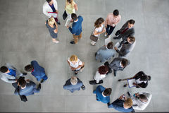 People standing and talking on business meeting Stock Photography