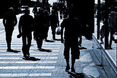 People at the street Royalty Free Stock Image