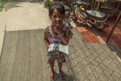 People on the street of asian country - Vietnam and Cambodia Stock Photography