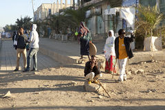 People in the street, Ethiopia Stock Photo
