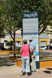 People on the streets of the city of Torrevieja Stock Photos