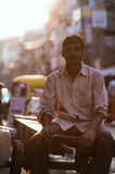 People in the streets of India Royalty Free Stock Images