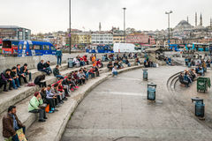 People and streets of Istanbul, Turkey royalty free stock photos