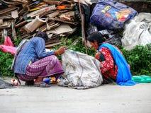 People and streets of Kathmandu, Nepal Royalty Free Stock Image