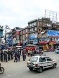 People and streets of Kathmandu, Nepal Stock Images