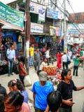 People and streets of Kathmandu, Nepal Royalty Free Stock Photo