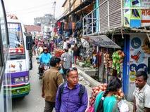 People and streets of Kathmandu, Nepal Stock Photo
