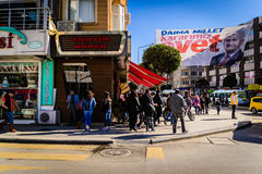 People And Streets Of Yalova City Royalty Free Stock Images