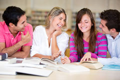 People studying Stock Images