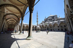 People in Sultanahmet Mosque Stock Photos