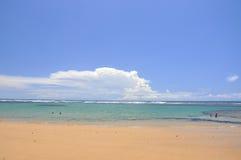 People swimming, Taipu de Fora, Bahia (Brazil) Stock Photo
