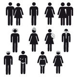 People symbol Stock Photo