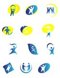 People symbols Stock Photos