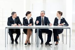 People at the table Royalty Free Stock Images