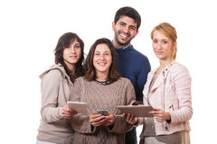People with Tablet PC Stock Photography