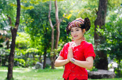 People of Tai Yai Royalty Free Stock Photos