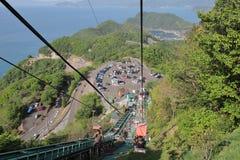 Mikatagoko cable car Fukui Japan Royalty Free Stock Photos