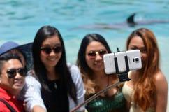 People take selfie photo Royalty Free Stock Photo