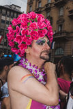 People taking part in Milano Pride 2014, Italy Stock Image