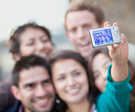 People taking a self-portrait Royalty Free Stock Photos