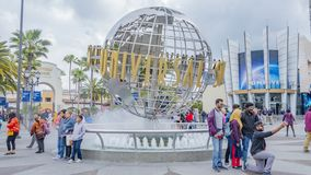 Hollywood, Universal Studios, California. April, 4th, 2019. royalty free stock photos