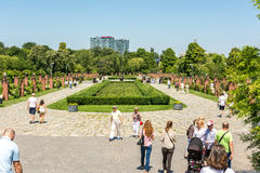 People Taking A Walk In Herastrau Park Stock Photos