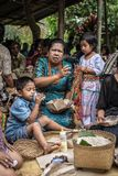 People from Tana Toraja, Sulawesi, Indonesia Royalty Free Stock Images