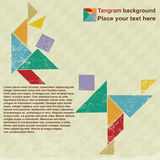 People tangram Stock Photography